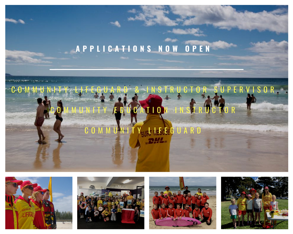 Community Lifeguards & Education Instructors – NOW RECRUITING!